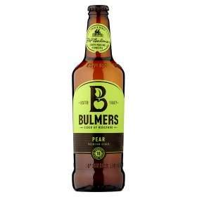 Bulmers Pear Premium Cider 28p per bottle and other AMAZINGLY CHEAP ALCOHOL DEALS @ ASDA online - Full list in comments