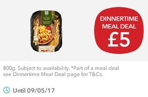 Co-Op Italian Meal Deal/Dinnertime Meal Deal - £5
