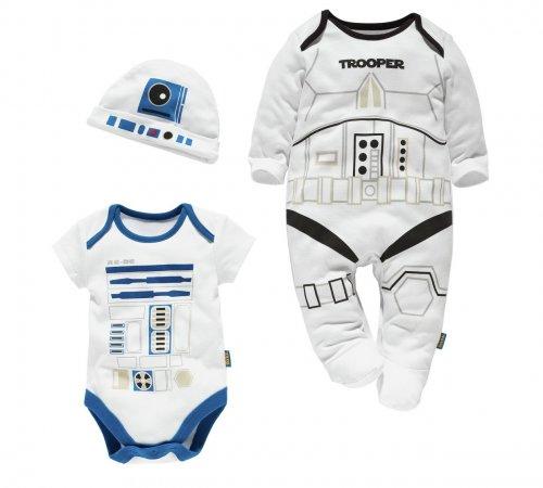 Star Wars 3 piece baby gift set 0-3, 3-6 & 6-9 months was £11.99 now £6.99 @ Argos