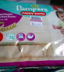 pampers nappy pants £2 @ boots also bogof