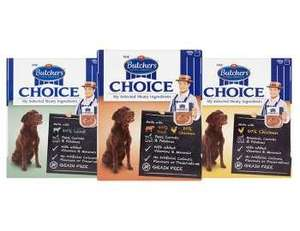 FREE Butcher's Choice trays 400g (£1) - any variety (Clicksnap)