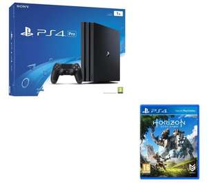 PLAYSTATION 4 Pro & Horizon Zero Dawn Bundle – 1 TB £349.99 @ Currys