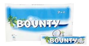 Bounty Chocolate Bar 7x2, 399g £1.50 @ Amazon pantry - A delivery fee of £2.99 for the first Amazon Pantry box and 99p for each additional box in the same order