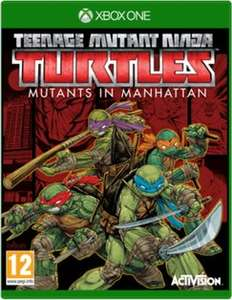 Teenage Mutant Ninja Turtles: Mutants in Manhattan [XBox] £9.99 @ Game