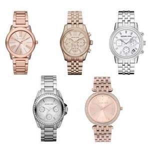 Michael Kors Ladies watches / Chronographs £85.49 delivered using code @ JB Watches Using code
