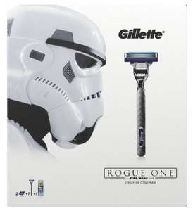 Gillette Mach3 Turbo Razor Plus Two Razor Blades and 75 ml Extra Comfort Shaving Gel, Star Wars Gift Set £5.05 prime / £9.80 non prime @ Amazon