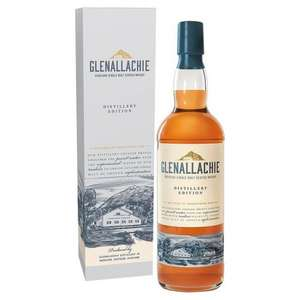 Glenallachie Speyside Distillers Edition Single Malt Scotch Whisky 70cl £21 @  Morrisons