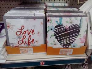 Decorative canvas Poundland £1 instore