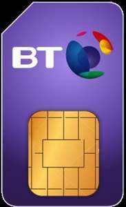BT SIM ONLY Unlimited calls, Unlimited texts, 15GB Data + £100 Amazon Gift Card £15pm £180 via USwitch (BT BB customers only)