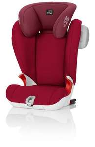 Britax Römer KIDFIX SL SICT High-Backed Booster Car Seat, Group 2/3 (15 - 36 kg), Collection 2017, Flame Red  £79.95 @ Amazon PRIME Exclusive