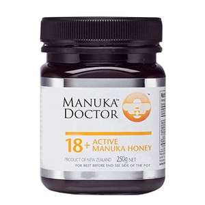 Manuka Doctor Active Manuka Honey 18+ 250g £14 for TWO (£7 each) @ Holland & Barrett