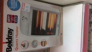 Beldray heater £3 instore @ b and m