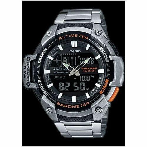 Half price. Casio Sport Men's Twin Sensor Combi Bracelet Watch £49.99 - Argos