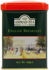 Ahmad Tea English Scene Caddy English Breakfast 100 g (Pack of 6) £5.36 (S&S) or £5.64 @ Amazon (Add-On Item)
