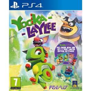[PS4/Xbox One] Yooka-Laylee - £19.95 (£19.49 - Base) / Dishonored 2 - £14.95 (Base price matched) - TheGameCollection