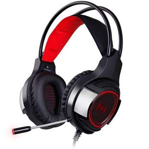 Mixcder Devil PC Gaming Headset - Comfortable Headphones for Computers / Desktop / Laptop and More - Black £19.99  (Prime) / £24.74 (non Prime)  Sold by Simon's Gadgets and Fulfilled by Amazon