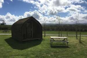 2 night family of 4 camping pod break at Meadow Falls with 5 star trip advisor rating valid all summer was £100 now £59 @ Living Social
