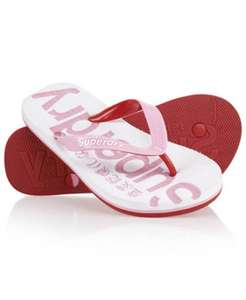 Mens & womens Superdry flip flops from £6.99-£8.99 delivered @ eBay / Superdry