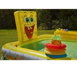 SpongeBob SquarePants Activity Pool [8ftx 5ft] now £22.49 @ Argos