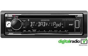 Kenwood KDC-BT700DAB Bluetooth DAB+ Car Stereo £85 @ Halfords