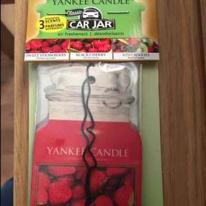 3 Yankee candle car air freshener at b&m for £2.49