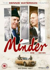 Minder: The Dennis Waterman Years - 20 DVD box set £9.95 @ Amazon Prime / £11.94 Non-Prime