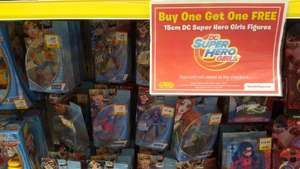 DC Superhero Girls 15cm figures £7.49 and BOGOF @Smyths Toy Store effectively £3.75 each