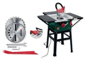 Table Bench Saw Lidl N.Ireland 254mm blade £99.00 from Monday 8.5.17