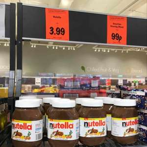 Nutella @ Lidl 1kg while stocks last only