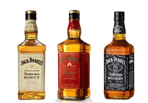Jack Daniel's Whiskey 70cl & Jack Daniel's Tennessee Honey Whiskey 70cl & Jack Daniels' Tennessee Fire Cinnamon Whiskey 70cl £18 in-store & online @ Sainburys