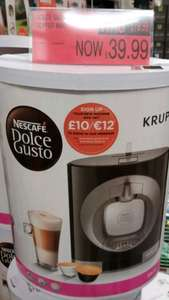 Nescafe Dolce Gusto coffee machine Oblo (black) instore at B&M stores - £39.99