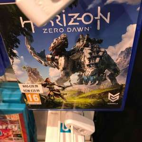 Horizon Zero Dawn - £19.99 instore @ Selfridges (London)