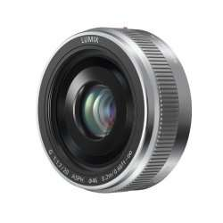 Panasonic LUMIX G 20mm f/1.7 II - Micro 4/3  - Silver - £183.99 - eGlobal Central