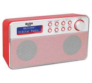 BUSH DAB Stereo Radio in Red £29.99 C+C @ Argos