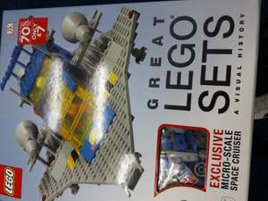 Great LEGO sets a visual history book only £7 instore @ WH Smith (Oxford)