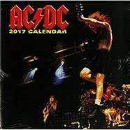 AC DC 2017 Calendar Free Delivery until midnight Sunday was £9.99 now 20p @ The Works