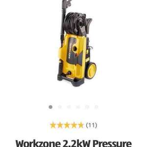 workzone 2.2kw pressure washer £79.99 @Aldi