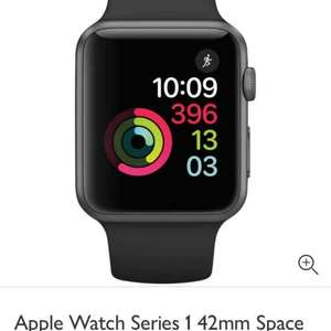 Apple Watch series 1 42mm with Powerbeats 3 wireless headphones. Buy together save £75. total price £339.95 from John Lewis. 2 year warranty