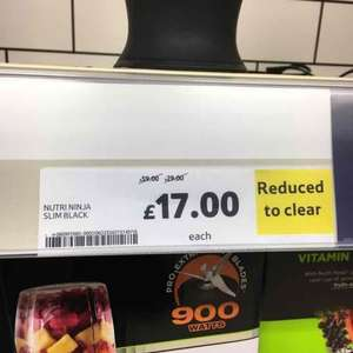 Nutrininja slim £17 @ Tesco instore