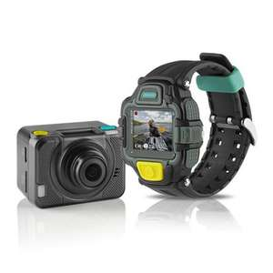 4GEE HD Action Cam 1080P, 13MP, 4G + View Finder Watch + 32GB micro-SD Unlocked to all Networks @ £99.98 at Scan