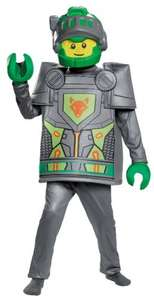 Lego Costume, Kids Nexo Aaron Deluxe Outfit Large Age 10 - 12 years £5.79 Prime / £10.54 Non Prime  @ Amazon