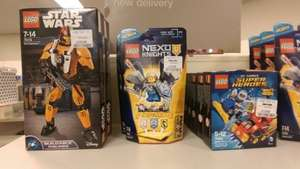 Lego star wars buildable figuar, NEXO knight and DC super hero mighty micro discount - £4.99 at TkMaxx Leeds
