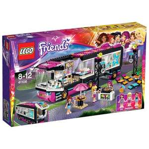 LEGO Friends Pop Star Tour Bus (41106) £29.99 @ Toys R Us instore plus free £4.99 gift