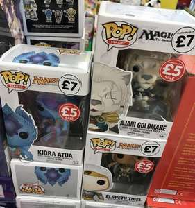 Magic The Gathering POP! Vinyl Figures instore @ The Works (Warrington) - £5