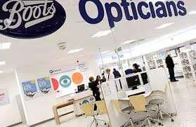 Free eye test at Boots opticians
