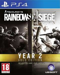 Rainbow Six Siege Gold Season 2 (PS4) £31.99 - Amazon