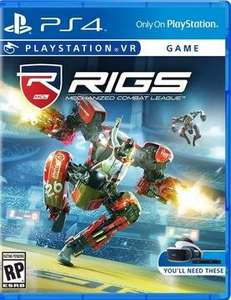 RIGS Mechanised Combat League PS4 (VR) £20 @ Smyths