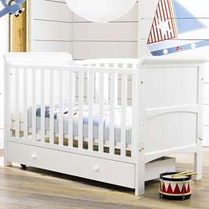 3 in 1 Tuscany cotbed in white or antique pine was £199 now £139.99 delivered with code @ Toys R Us