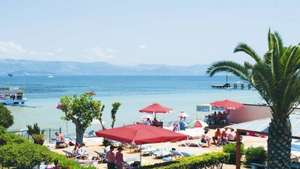 14 nights, Holiday Agnes Beach Apartments in Kavos, Corfu from East Midlands £144.10 p.p (includes Luggage & Transfers) £288.20 at Thomson