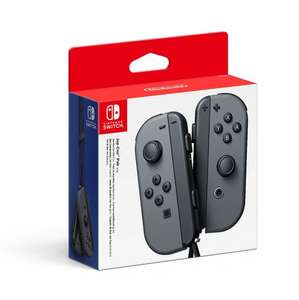 Nintendo Switch Joy-Con Controller Pair - Grey Amazon £58.13